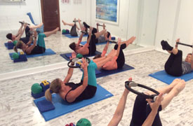 Pilates holiday course