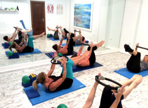 Pilates matwork, Spain